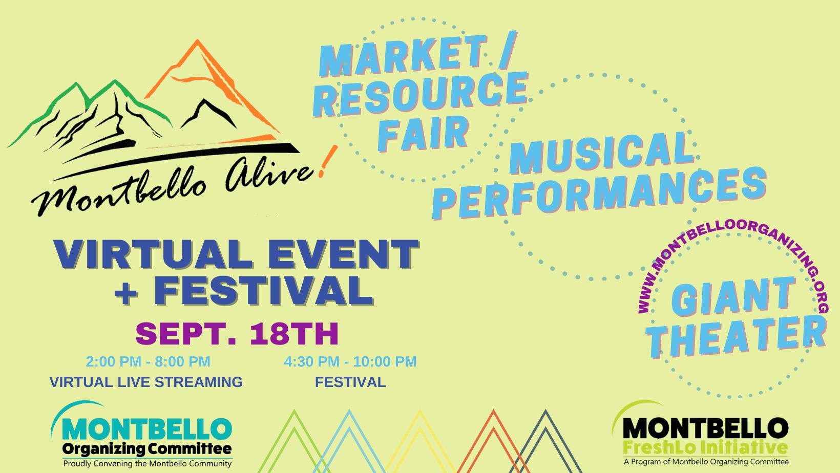 Montbello Alive! 2021 Event Banner