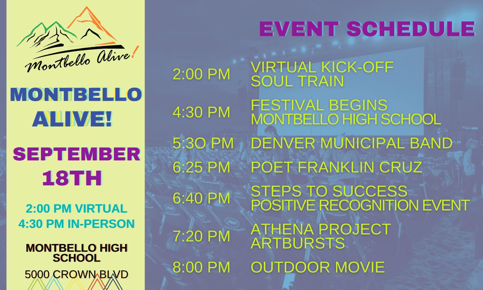 Montbello Alive 2021 Event Schedule (1)
